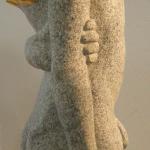 MERKUR (Granit/Blattgold)