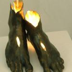 AUFERSTEHUNG (Bronze/Lichtquelle)